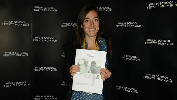 Emilie Baillargeon au Munich International Festival of Film Schools