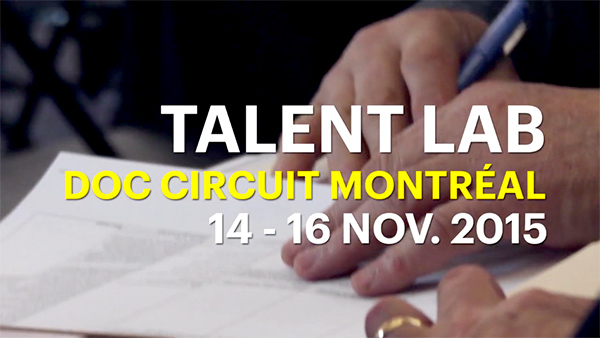 L'inis accueille les participants de Talent Lab du Doc Circuit Montréal